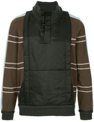 Craig Green shell panelled sweater