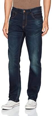 UNIONBAY Men's Stretch Straight Leg Denim Jean
