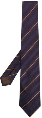 Church's striped print tie