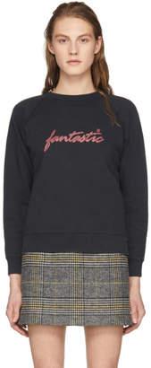 ALEXACHUNG Black Fantastic Sweatshirt