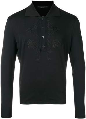 Ermanno Scervino embroidered polo shirt