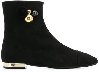 Anna Baiguera embellished ankle boots