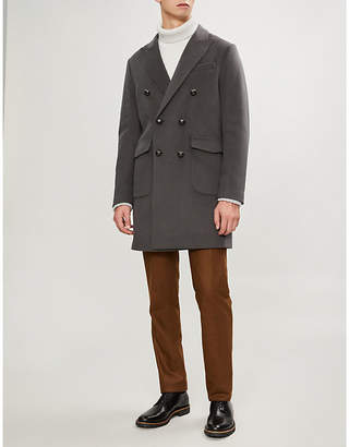 Corneliani CC Collection wool-blend coat