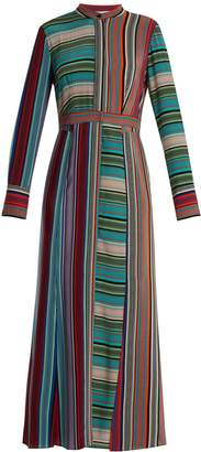 Diane von Furstenberg Striped silk shirtdress
