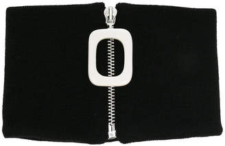 J.W.Anderson zipped choker scarf