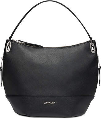 Calvin Klein Mercy Leather Hobo