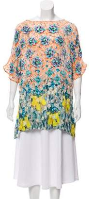 Mary Katrantzou Printed Short Sleeve Tunic