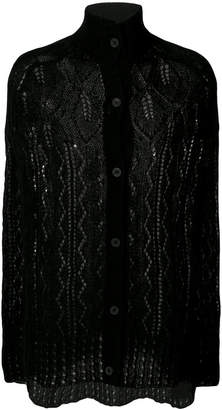 McQ knitted cape