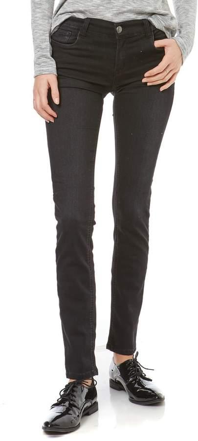 Jeans mit Slimcut - schwarz