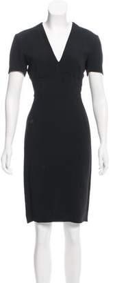 Stella McCartney Crepe V-Neck Dress