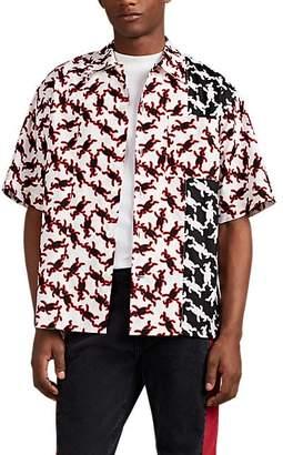 Marni Men's Logo-Print Cotton Poplin Shirt
