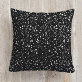 Spring Weeds Self-Launch Square Pillows