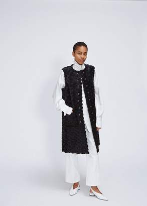 Noir Kei Ninomiya Flower Pattern Vest