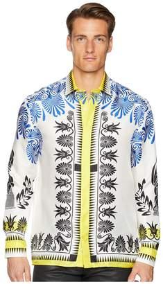 Versace Olympiad Print Silk Shirt