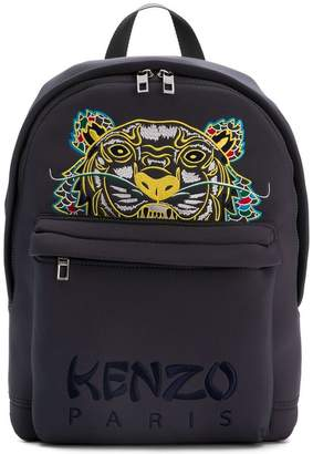 Kenzo large neoprene 'Dragon Tiger' backpack