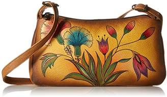 Anuschka Handpainted Leather 8041-TKG East West Shoulder Bag