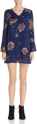 KNOT SISTERS Langley Floral Peasant Dress $108 thestylecure.com