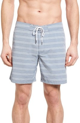 Men's Bonobos Stripe Board Shorts $88 thestylecure.com