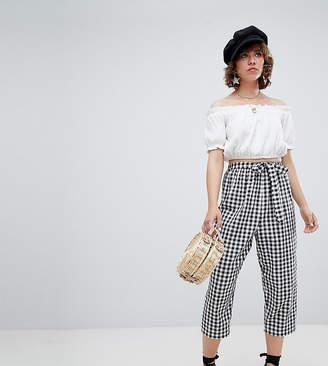 Reclaimed Vintage inspired gingham pants