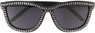 Linda Farrow Gallery Alexander Wang x Linda Farrow zipper motif sunglasses