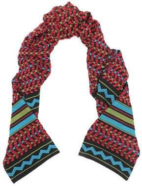 M Missoni Intarsia Wool-Blend Scarf