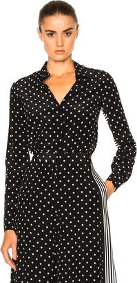 Stella McCartney Silk Polka Dot Blouse $925 thestylecure.com