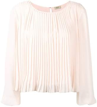Liu Jo pleated boxy blouse