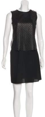 Theory Laser Cut Mini Dress
