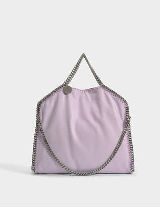 Stella McCartney Shaggy Deer 3 Chain Falabella Bag in Lilac Eco Leather