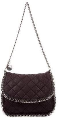 Stella McCartney Shaggy Deer Falabella Flap Shoulder Bag