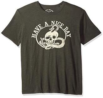 Lucky Brand Men's Nice Day Skull Graphic TEE