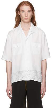 Our Legacy White P.X. Beachlife Shirt