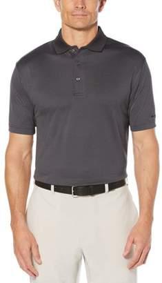 Hogan Ben Big Men's Performance Short Sleeve Jacquard Golf Polo Shirt