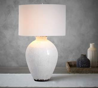 Pottery Barn Jamie Young Bethany Ceramic Urn Table Lamp