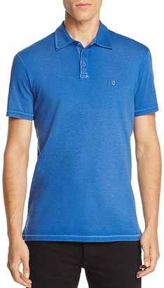 John Varvatos Star USA Aged Regular Fit Polo Shirt $88 thestylecure.com