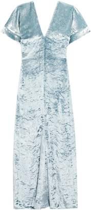 Sonia Rykiel Crushed-velvet Maxi Dress