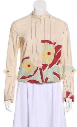 Marni Button-Up Knit Jacket
