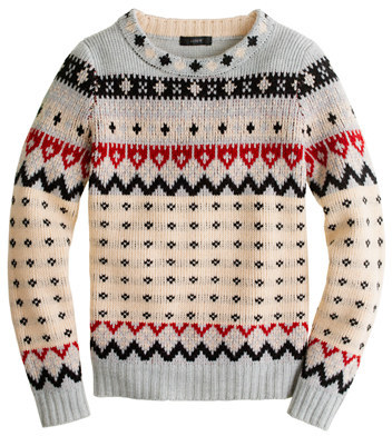 J.Crew Fair Isle ski sweater