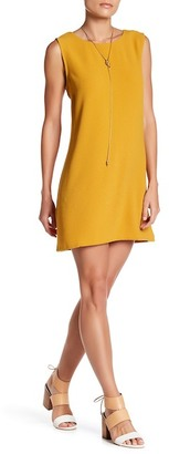 Bobeau Lattice Back Shift Dress (Petite) $62 thestylecure.com