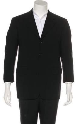 Barneys New York Barney's New York Woven Wool Blazer