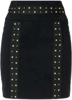 Pierre Balmain studded mini skirt