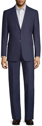 Saks Fifth Avenue Stripe Wool Suit