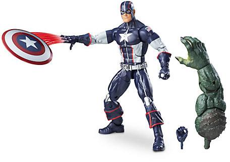 Captain America Action Figure - Build-A-Figure Collection - Secret War - 6''