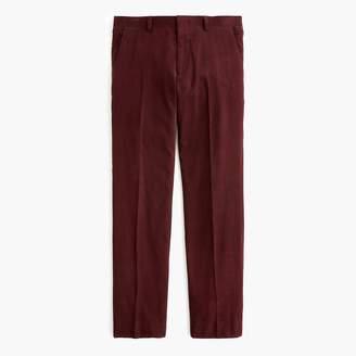 J.Crew Ludlow suit pant in Italian cotton corduroy