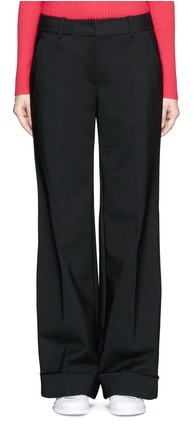 3.1 Phillip Lim3.1 Phillip Lim Folded cuff wide leg pants