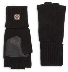 UGG Knitted Fingerless Gloves