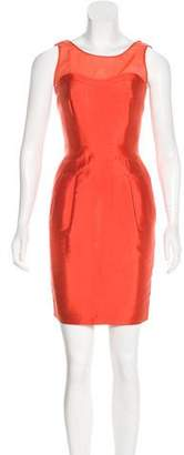 Reiss Silk Halter Dress