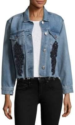 Peserico Embellished Denim Jacket