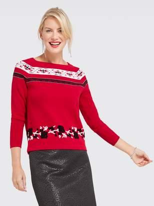 Draper James Fairisle Sweater