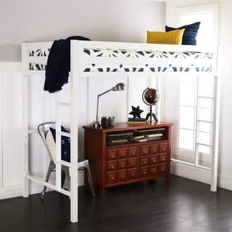 LOFT Manor Park Premium Deluxe Twin Metal Bed - White